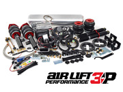 Vw Corrado Air Lift 3p Complete Air Suspension Kit With 3/8 Management Bags Ride