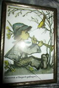Antique Hummel Wall Piicture -germany
