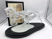 Figurine Wild Horses 2001 Boxed And Zertifikat. Top Condition