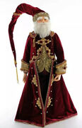 """Katherine's Collection Gifts Of Christmas Santa Doll 11-911518 New 32"""""""