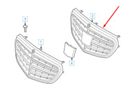 Mercedes-benz E-class W212 Front Radiator Grille A2128801883 New Genuine 2015
