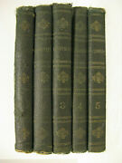 5v Early American Pentateuch Hebrew And English New York 1913 Letres Isaac Leesser