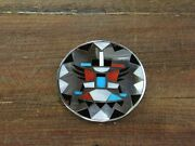 Vintage Multi-color Knifewing Pendant/pin
