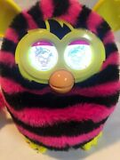 Furby Boom 2012 5 Interactive Electronic Toy Horizontal Stripes Pink And Black