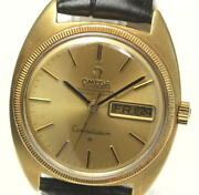 Omega Constellation K18yg Day Date Cal.751 Automatic Menand039s Watcha_521726