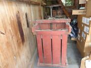 Scarce Large Antique Wood Tobacco Baler And Press, Reading,pa., Mold, Man Cave