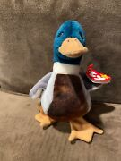 Ty Beanie Babies 1997 1998 Jake The Duck Retired Rare Errors And Stamp Tag