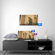 Modern Oil Painting Art Print On Canvas The Buddha Statues Home Decor Unframed