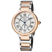 Gv2 By Gevril Womenand039s 12204b Rome Two-tone Ip Stainless Steel Diamond Watch