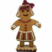 Gingerbread Mama Cookie Christmas Display Prop Decor Statue