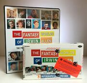 Fantasy Worlds Of Irwin Allen - Trading Card Archive Box W/ Extras - Rittenhouse