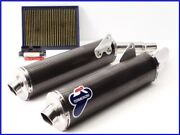 Monster S4 Ms4 Termignoni Oval Carbon Slip On Muffler Set W/ Dp Ecu And Filter Yyy