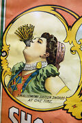 Magic Circus Side Show Act Early 20 Century Lithograph Poster Kar-mi Marvelous