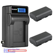 Kastar Battery Lcd Wall Charger For Phase One P25 Plus P25+ P-back Digital Back