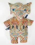 Vintage 1980and039s Liberty And Co London Handmade Fabric Elephant Beanie Toy