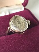 Eterna Antique Watch Ring Not Just Beautiful It Works