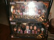 Lot Of 2 2011 Pez The Lord Of The Rings Sets Regular And Walmart Exclusive Sealed