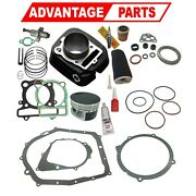 Yamaha Bruin 350 Cylinder Piston Ring Gasket Top End Kit Set 5yt-11310-00-00