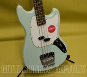 037-4570-557 Squierandreg By Fender Classic Vibe And03960s Mustang Bass Surf Green