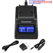 Kastar Battery Lcd Fast Charger For Sony Np-bn1 Npbn1 And Sony Cyber-shot Dsc-wx9