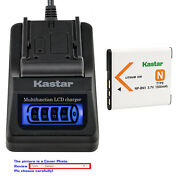 Kastar Battery Lcd Quick Charger For Sony Np-bn1 Npbn1 Sony Cyber-shot Dsc-wx9