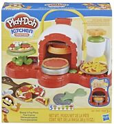 Play-doh Stamp N Top Pizza Oven Toy With 5 Non-toxic Colors. Fast Free Shipping