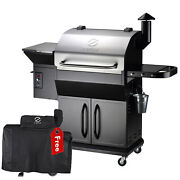 Z Grills Zpg-1000e Wood Pellet Grill Bbq Smoker Digital Control With Cover