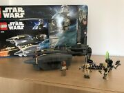 Lego Star Wars General Grievous Starfighter 8095 Complete Mint Condition