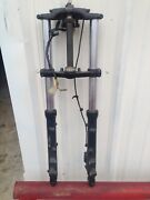 1988-93 Kawasaki Zx6 Front End Forks With Ignition And Key