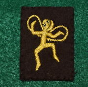 Vintage Girl Scout - Brownie Six Emblem - Yellow Fairy -1928-1937 - Very Scarce