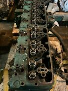 Volvo Penta D-71 B Marine Diesel Engine Head Assembly Only