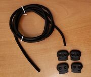 Conductive Rubber Tubing +clips For Tens Estim Finger Joint Therapy For Pain