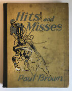 Hits And Misses Signed And Numbered Original Drawing By Paul Brown Derrydale Press