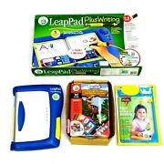 Leap Frog Leappad Learning System Plus Writing W/book Ages 4-8 Boxed 30056