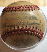 Vintage New Orleans Collectibles Minor League Baseball Autographed History
