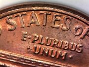 1983 P Double Die Reverse Penny Error Lincoln Cent Ddr