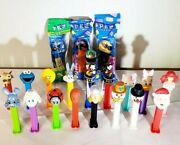 Pez Lot Bundle - Mickey Mouse Sesame Street Disney Racing And More Click To See