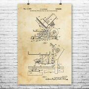 Meat Slicer Poster Print Deli Wall Art Culinary Gifts Sandwich Shop Decor