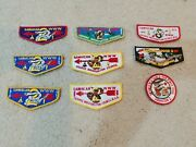 Lodge 002 Sanhican Sakuwit Order Of The Arrow Oa Flaps Boy Scouts America