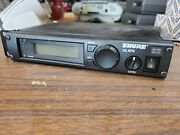 Shure Ulxp4-m1 Wireless Receiver 662-698 Mhz Missing Dial Parts Only Case
