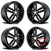Set Of 4 Chevrolet Camaro 2017 2018 2019 20and039and039 Factory Oem Staggered Wheels Rims