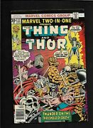 Marvel Two-in-one 22 Thor Vs Thing F 1970s Bronze Age Comic Book
