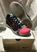 Nike Menand039s Kobe X 10 Elite Low Mambacurial Pink Black Ds Size 10.5 New 👀 🔥