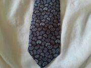 250 Brioni Mens 100 Silk Tie Hand Made In Italy