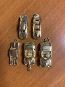Vintage Antique Car Charms 14k Yellow Gold
