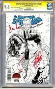 Amazing Spider-man Renew Your Vows 5 Cgc Ss 9.6 Stan Lee Joanie Lee And Quesada