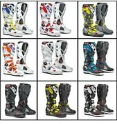 Sidi Cross Fire 2 Srs Shock Resistant Off Road Motorcycle Bike Boots Ce Approved