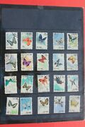 1963 China Stamp S56 Butterfly Cto 20