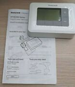 Honeywell Programmable Thermostat With Quick Installation Guide