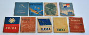 Lot Of 9 Wwii World War 2 Pocket Guides China New Zealand Guinea Caledonia Indie